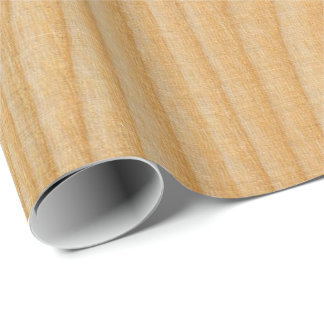 light wood board textures wrapping paper