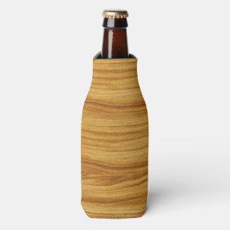 Light Wood Grain Bottle Cooler