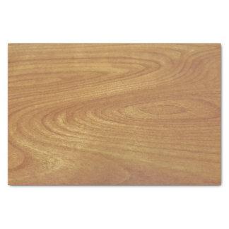 Light wood grain tissue paper