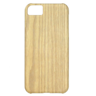 Light Wood Grain Veneer Cover For iPhone 5C