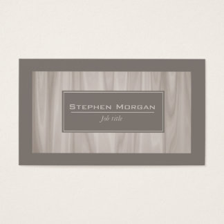 light wood textured marble business card