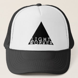 Light Worker Trucker Cap by Don Depresso