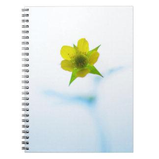 Light Yellow Flower Notebook