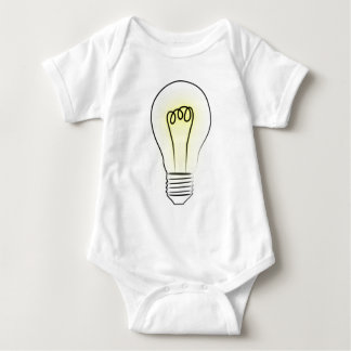 Lightbulb Baby Bodysuit