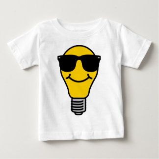 Lightbulb (high) template baby T-Shirt