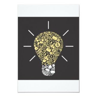 Lightbulb Idea Invitations