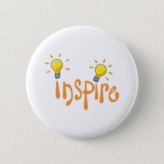 LIGHTBULB INSPIRE 2 INCH ROUND BUTTON