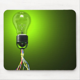 lightbulb mousepad