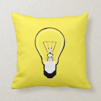Lightbulb Pillow