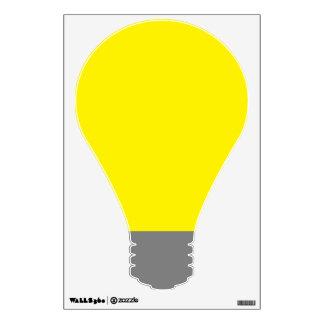 Lightbulb Wall Decal