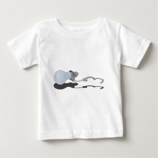 LightBulbHandcuffs083114 copy.png Baby T-Shirt