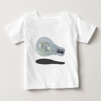 LightBulbWithIceBlocks083114 copy.png Baby T-Shirt