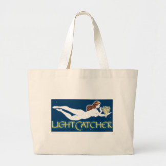 LightCatcher White Goddess Large Tote Bag