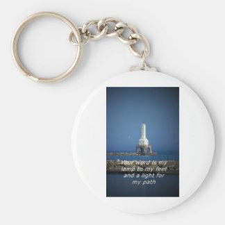 lighted path lighthouse keychain