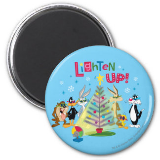 Lighten Up 2 Inch Round Magnet