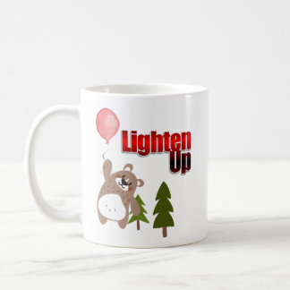 Lighten Up Bear with Balloon Coffee Mug