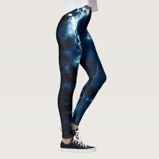 Lightening girl leggings