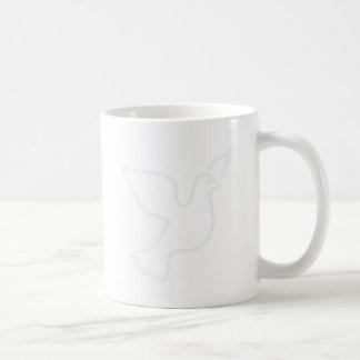 Lighter Blue Peace Dove Coffee Mug