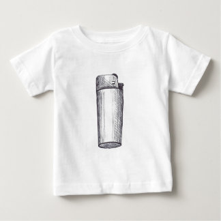Lighter Ink Drawing Baby T-Shirt
