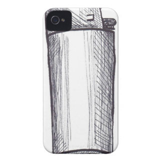 Lighter Ink Drawing Case-Mate iPhone 4 Case