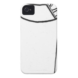 LIghter Ink Drawing iPhone 4 Case-Mate Case