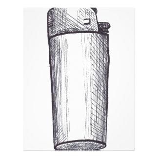 Lighter Ink Drawing Letterhead