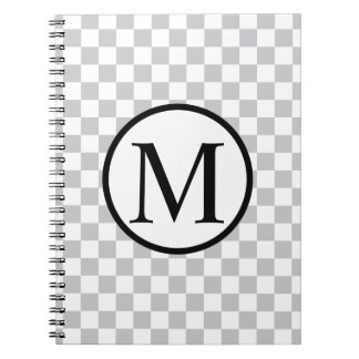 LightGreyCheckerboard Notebook