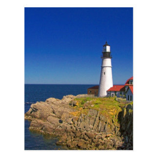 Lighthouse Art 7 Postcard
