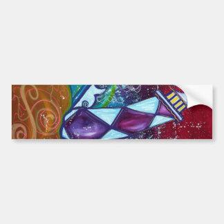 Lighthouse Art Bumper Sticker