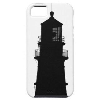 lighthouse art design black fashion iPhone 5 cover