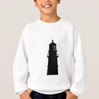 lighthouse art design black fashion sweatshirt