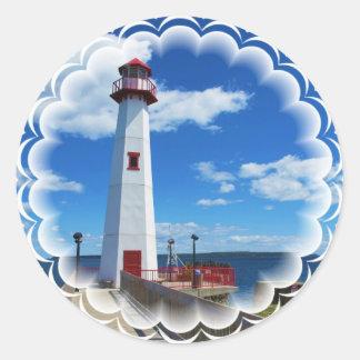 Lighthouse Art Stickers