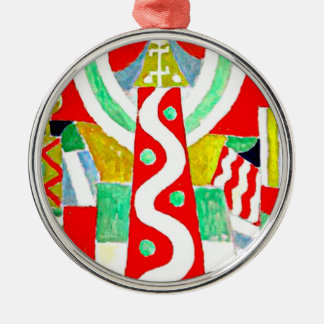 Lighthouse, artwork by Marsden Hartley Metal Ornament