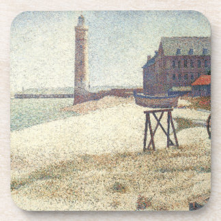Lighthouse at Honfleur Drink Coasters
