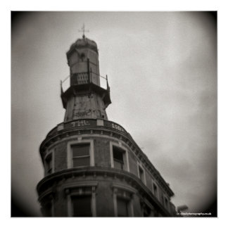 Lighthouse at Kings Cross London - Toy Camera Poster