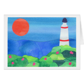 Lighthouse at Montauk Point Card