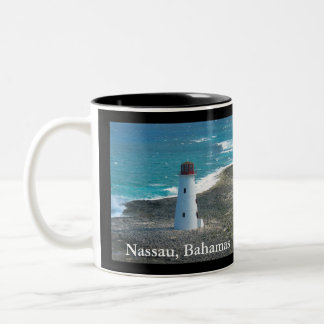 Lighthouse at Nassau in the Bahamas on Coffee Mug