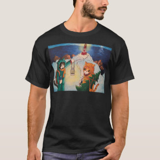 Lighthouse at Night T-Shirt