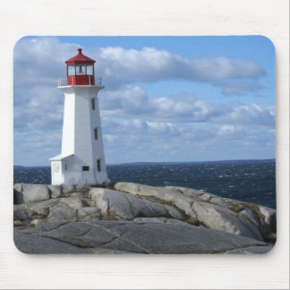 Lighthouse at Peggy's Cove Mouse Pad