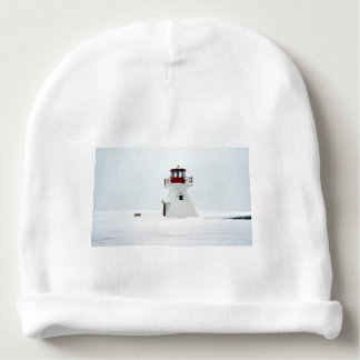 Lighthouse at Richards Landing Baby Beanie