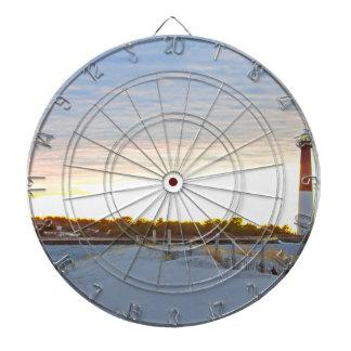 Lighthouse at Sunset Dartboard
