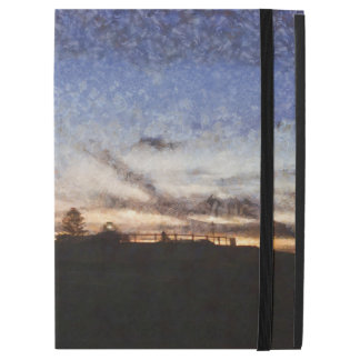 "Lighthouse at sunset iPad pro 12.9"" case"