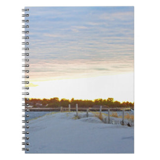 Lighthouse at Sunset Notebook