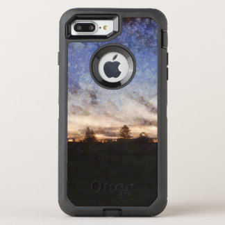 Lighthouse at sunset OtterBox defender iPhone 8 plus/7 plus case