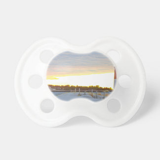 Lighthouse at Sunset Pacifier