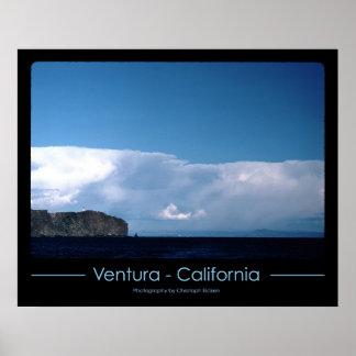 Lighthouse at Ventura, California Poster