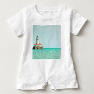 lighthouse baby romper