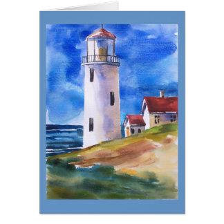 Lighthouse Bay Card