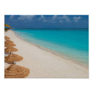 Lighthouse Beach, Barbuda Poster