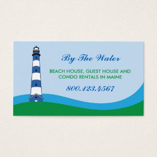 Lighthouse Beach Rental Business Card
